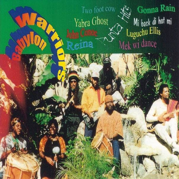 "Babylon Warriors ""Punta Hits"" 1997 Caye Records, produced by Patrick Barrow"