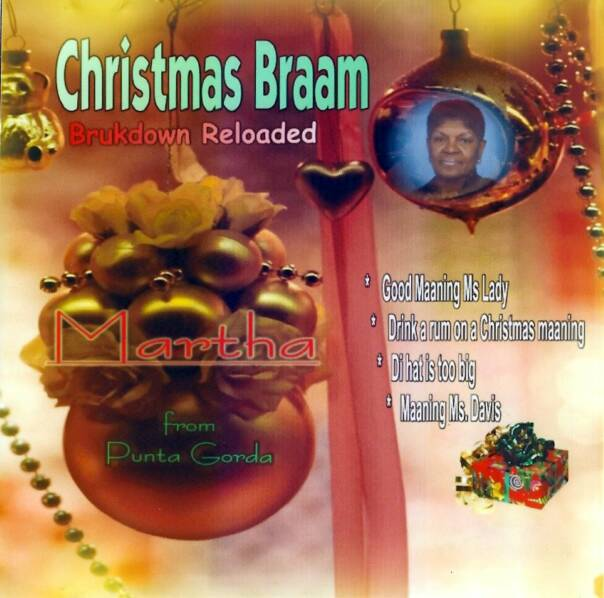 "Martha Weatherburn ""Christmas Braam"" 2004 Caye Records, produced by Patrick Barrow"
