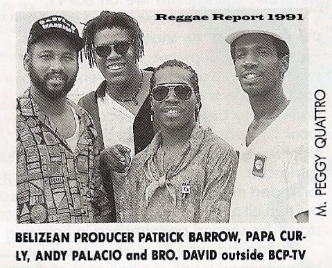 Caye Recording artists, Patrick Barrow, Pupa Curly, Andy Palacio, Bredda David