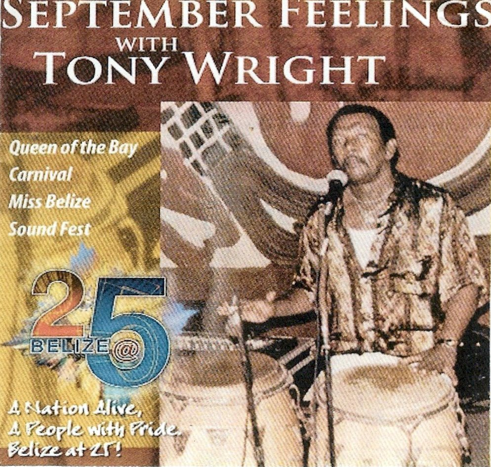 Tony Wright - September Fever (Produced by: Tony Wright, Arranged by: Dale Davis, Juni 'Bow' Welch, Paul Flores, Lynn/Junie Young