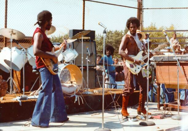 Bredda David & @ Jesse Owen Park in the 70s